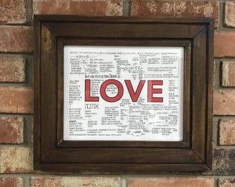 Sermon Notes - Love