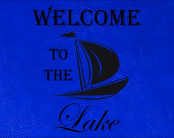 Lake House Placemats, Cabin Placemats, Lake House Decor, Cabin Decor