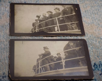 PRESIDENT Theodore Roosevelt Cabinet Card Lot of 2