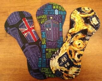 "9"" Doctor Who Liner/Light Cloth Pad Set"