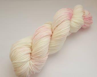 Fluffy Cloud - 4ply Deluxe Sock hand dyed yarn – Superwash Merino + Nylon 85/15