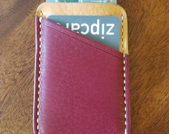 Minimalist wallet, wallet, minimalist, card wallet, leather wallet, men's wallet,