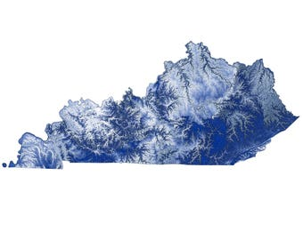 University of Kentucky Topographic Map