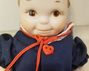 """9"""" Handmade Porcelain Doll- """"Sara"""""""