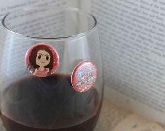 River Tam Wine Charms | Firefly Wine Charms