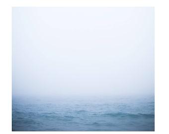Ocean Photograph, Waves, Ocean Waves, Sea, Minimal Photograph, Beach, Serene,