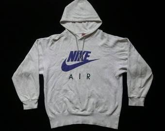 Vintage Nike Air Big Logo Hoodie Just Do It Made in Japan