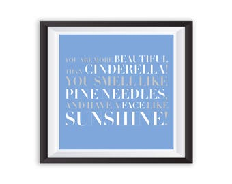 Bridesmaids Wedding Movie Quote Art Print Poster