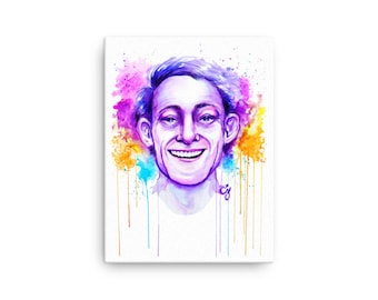LGBT+Heroes Series: Harvey Milk Canvas