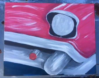 Classic Car Painting