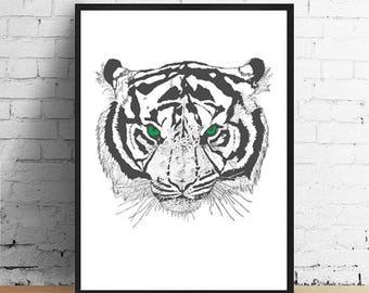 Green Eyed Tiger