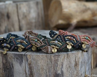Tri-colored Macrium bracelet