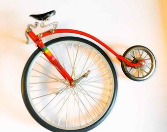 Die Cast Metal Bike Pennyfarthing Mini Die Cast Metal Bike Pennyfarthing Mini