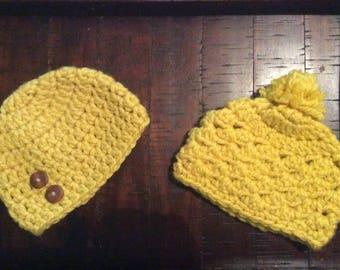 Chunky yellow hat