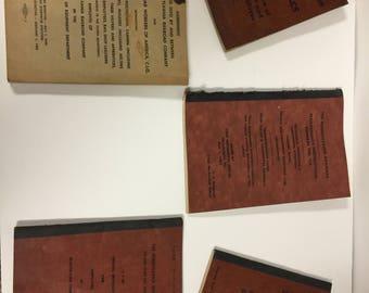 1930-60's Pennsylvania Railroad assorted rule books