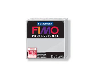 Polymer clay Fimo Pro 85 g - gray No. 80