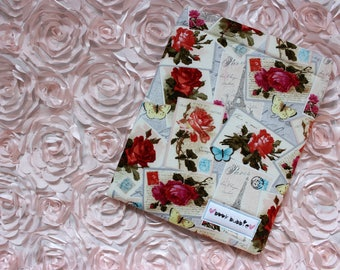Floral Stamp Book Sleeve