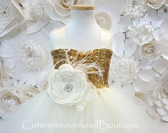 Ivory Tutu Dress-Ivory Flower Girl Tutu Dress-Ivory Dress.Ivory Bride Dress-Ivory Tutu-Ivory Wedding Tutu Dress-Ivory Birthday Tutu.