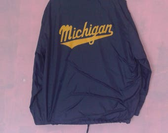 Vintage 60's-70's Michigan U of M Jacket Size Med/Large
