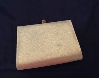Gold Lame Evening Bag