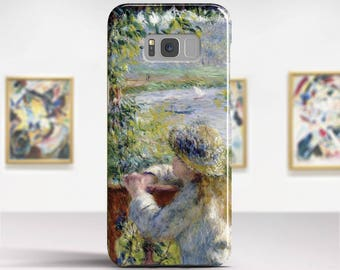 """Pierre-Auguste Renoir, """"By the Water"""". Samsung Galaxy S7 Case LG G6 case Huawei P10 Case Galaxy J5 2017 Case and more. Art phone cases."""