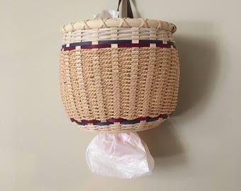 Grocery Bag Storage Basket Plastic Bag Holder Grocery Bag Storage Kitchen Bag Storage Basket Storage Bag Holder Garbage Bag Organizer