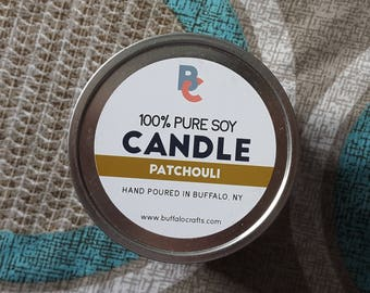 Patchouli | Soy Wax Candle