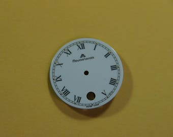 The watch dial Maurice Lacroix Swiss made