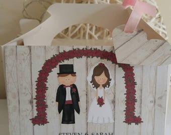 Personalised wedding childrens gift box