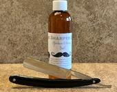 "Vintage 11/16"" RP Geneva Cutlery Co. OJ Razor Shave Ready Made In USA"