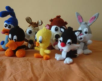The Looney Tunes in crochet