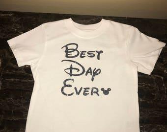 Best Day Ever Disney Personalized Custom Shirt/Onesie