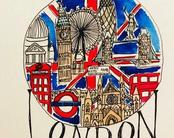 City Vignette -- London