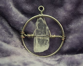Illumination Quartz Crystal Pendant | 14