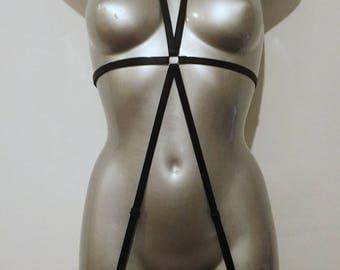 Strappy Bodysuit Harness - Midori