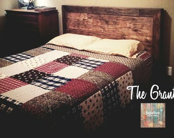 The Grant Pallet Bed