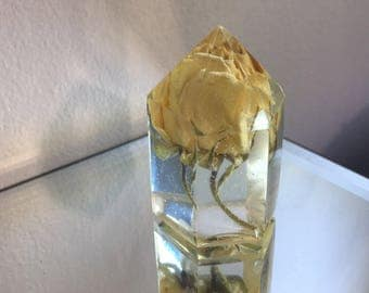 White Rose Bloom Crystal