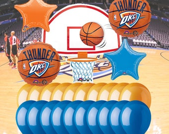 Oklahoma City Thunder 25 Piece Balloon Set