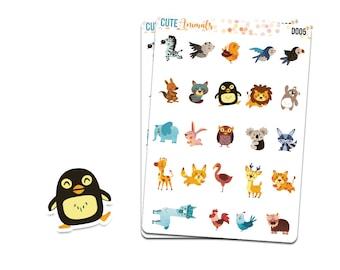 d005 | Cute Animals // Decorative