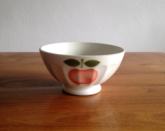 Apple Bowl - Saint Clement - France - vintage