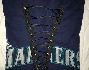 Seattle Mariners Lace Up Tshirt