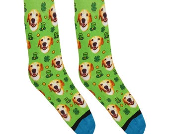 Custom St. Patrick's Day Socks!