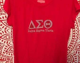 Delta Sigma Theta Inc  Sorority Tee