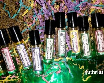 Ocean & Aquatic Scents Perfume Oil Roll On - Choose Fragrance