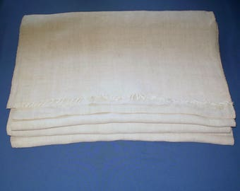 Vintage Homespun Hemp Fabric 9,8 yd