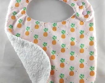 The pineapple motif child baby bib