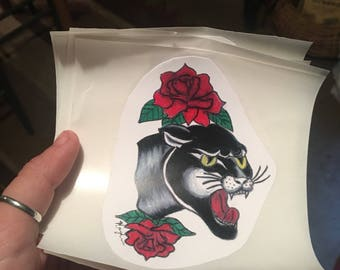Panther sticker
