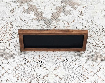 Real Wood Wedding -  Wood Frame Chalkboard Large Tabletop