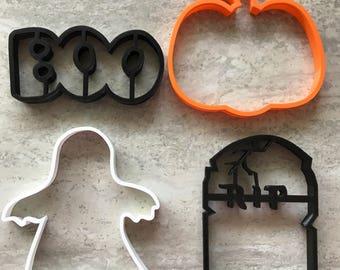 Halloween Cookie Cutters - Choose any 4