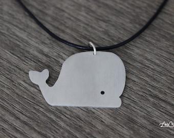 BALENA aluminium necklace